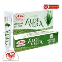 UBB® Aloe Vera Moisturizing Body Cream: Lô Hội dạng Gel (42,5 gr)