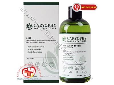 Caryophy Portulaca Tuner 3 in 1 300ml |Mỹ phẩm  Toner dành cho da mụn