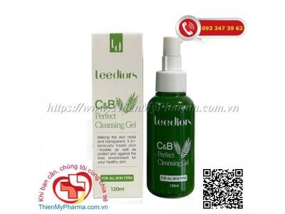 SỮA RỬA MẶT LEEDIORS  C&B PERFECT CLEANSING GEL | Giúp làm sạch da, giảm nhờn và se khít lỗ chân