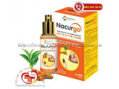 NACURGO | Dung dịch xịt bảo vệ da