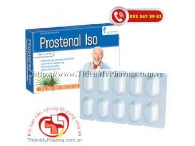 PROSTENAL ISO - Thực phẩm bảo vệ sức khỏe giúp duy trì sức khỏe tuyến tiền liệt