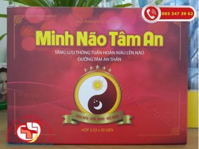 Viên uống Minh Não Tâm An - hỗ trợ hoạt huyết dưỡng não an thần