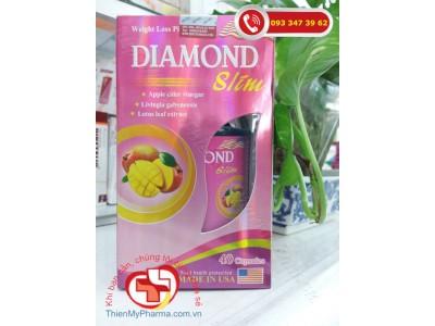 VIÊN GIẢM CÂN DIAMOND SLIM | HỖ TRỢ CHUYỂN HÓA CHẤT BÉO, HỖ TRỢ GIẢM BÉO