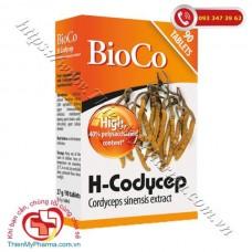 VIÊN UỐNG BIOCO H-CODYCEP CORDYCEPS SINENSIS EXTRACT
