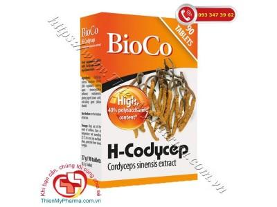 VIÊN UỐNG BIOCO H-CODYCEP CORDYCEPS SINENSIS EXTRACT | Nấm đông trùng hạ thảo tăng cường đề kháng ch