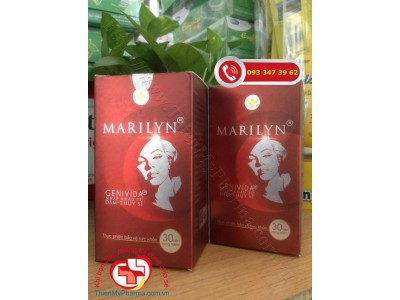 VIÊN UỐNG MARILYN - GIÚP CÂN BẰNG NỘI TIẾT TỐ NỮ