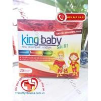 SIRO BỔ SUNG SẮT CHO BÉ KING BABY
