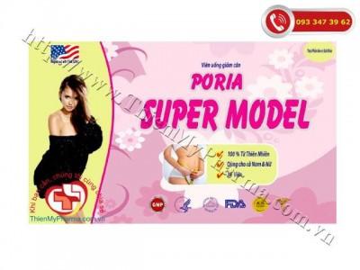 VIÊN GIẢM CÂN PORIA SUPER MODEL