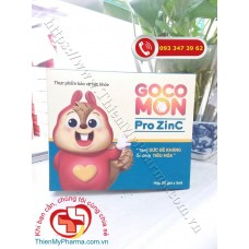 GOCOMON PRO ZINC (Hộp 20 gói)