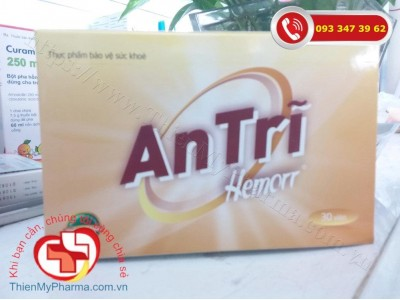 HEMORR - Viên uống hỗ trợ trong điều trị bệnh Trĩ (HỘP 3 VỈ x 10 VIÊN)