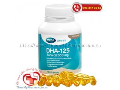 DẦU CÁ NGỪ DHA 125 | Hỗ trợ tuần hoàn não, phát triển trí não