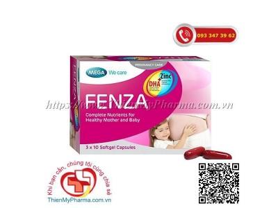 VIÊN VITAMIN CHO THAI KỲ FENZA MEGA | Cung cấp 19 vitamin, khoáng chất và DHA cho bà bầu và sau sinh