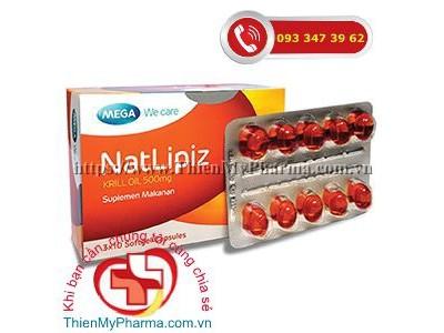 NATLIPIZ - Duy Trì Nồng Độ Cholesterol Tốt Trong Máu