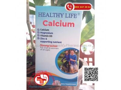 VIÊN UỐNG HEALTHY LIFE CALCIUM | BỔ SUNG CANXI, BỔ XUNG DHA GIÚP XƯƠNG CHẮC KHỎE