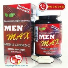 VIÊN UỐNG MEN MAX