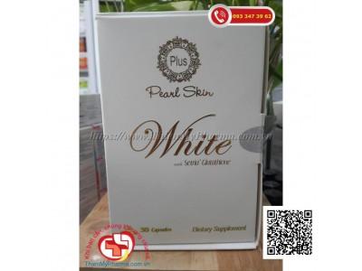 VIÊN UỐNG TRẮNG DA PEARL SKIN WHITE with Setria Glutathione | NUÔI DƯỠNG LÀN DA SÁNG ĐẸP