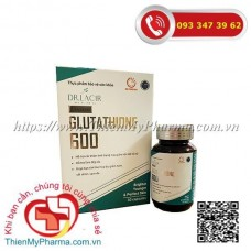 VIÊN UỐNG TRẮNG DA GLUTATHIONE 600 DR.LACIR
