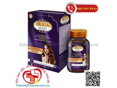 OLIGA QUEEN | Hỗ trợ tăng cường nội tiết tố nữ, hạn chế lão hoá, sạm da, giúp đẹp da