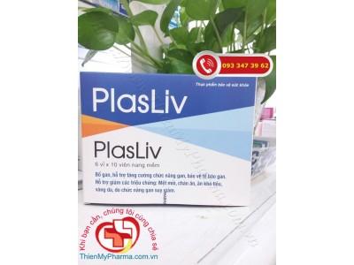 VIÊN UỐNG BỔ GAN PLASLIV | Hỗ trợ tăng cường chức năng gan, bảo vệ tế bào gan