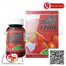 VIÊN GIẢM CÂN SUPER AFRICAN MANGO 1200