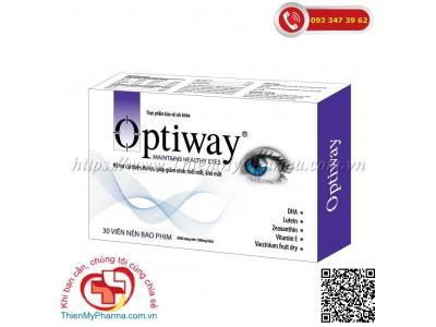 VIÊN UỐNG BỔ MẮT OPTIWAY | Hỗ trợ cải thiện thị lực, giúp giảm nhức mỏi mắt, khô mắt