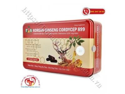 KOREAN GINSENG CORDYCEP 899 - Giảm suy nhược cơ thể