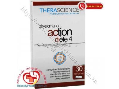 VIÊN GIẢM CÂN PHYSIOMANCE ACTION DIÈTE 4 | Hỗ Trợ Giảm Cân & Bổ Sung Vitamin