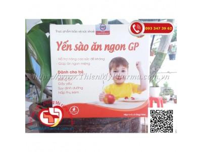 YẾN SÀO ĂN NGON GP | Hỗ trợ nâng cao sức đề kháng, giúp ăn ngon miệng