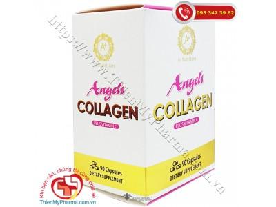 ANGELS COLLAGEN PLUS VITAMIN C (90 viên) |  Hạn chế lão hóa, giúp làm đẹp da, sáng da