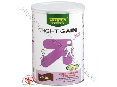 Sữa Appeton Weight Gain Child 900g